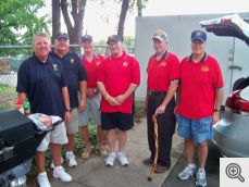 Scott Krantz, Dan Murphy, Scott Hornbruch, Jim Gruenewald, David Yard, and Jim Albright.