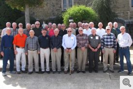 Retreat Participants and Father Ron Boudreaux, Director