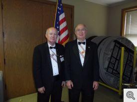 Gordon Wilson (l) and Gerald Krawczynski