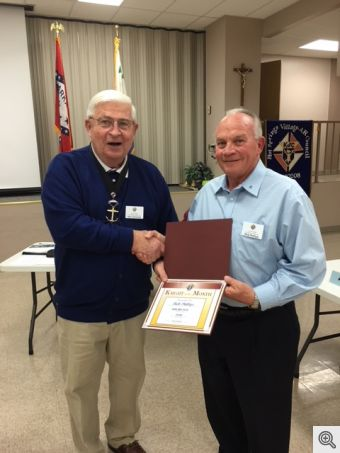 Feb KofC Mtg 2018 Knight of the Month