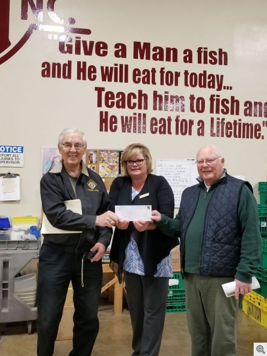 HSVKofC Donation to Abilities Unlimited Jan 2018