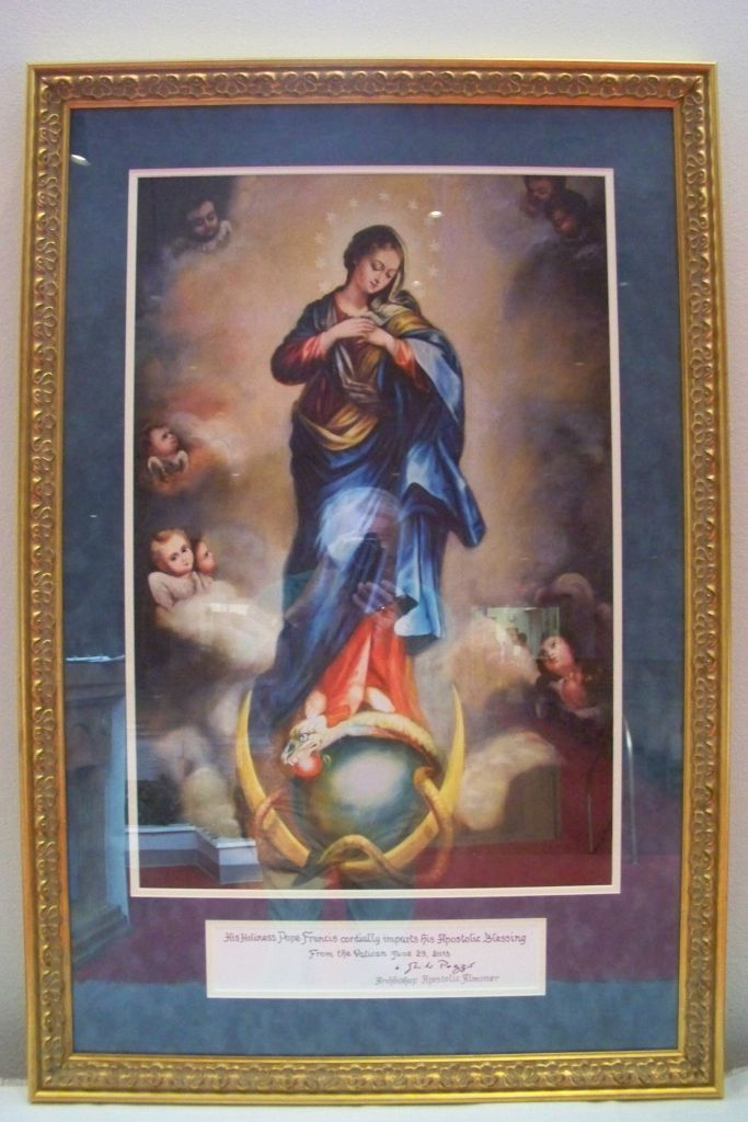 Immaculate Conception Icon Visits Sacred Heart Of Jesus